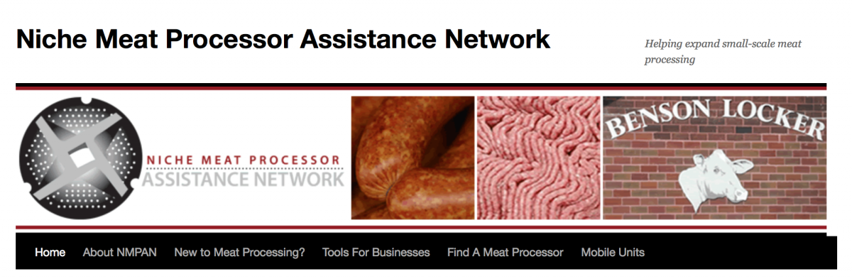 Niche Meat Processor Assistance Network